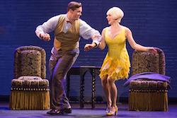 Bradley Allen Zarr in 'Bullets Over Broadway'. Photo by Matthew Murphy.