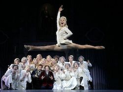 Brittany Marcin Maschmeyer in 'Young Frankenstein'. Photo by Paul Kolnik.