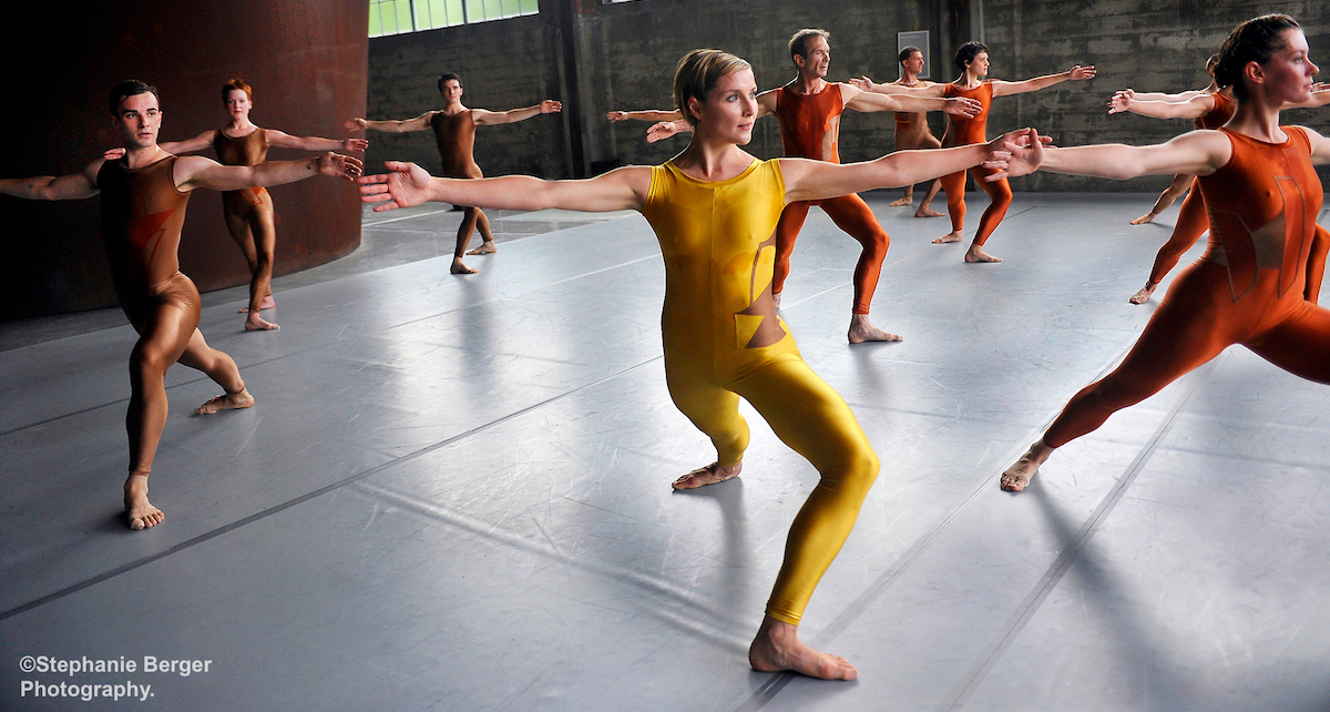 Merce Cunningham's site-specific Events, created 2007-8 at Dia:Beacon. Photo by Stephanie Berger.