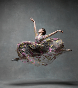 Tiler Peck, principal with New York City Ballet. Photo by NYC Dance Project