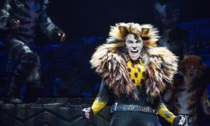 Tyler Hanes as Rum Tug Tugger in CATS on Broadway. Photo by Matthew Murphy