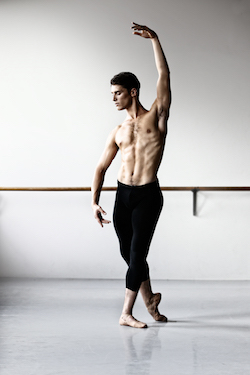 Vito Bernasconi. Photo courtesy of Queensland Ballet.