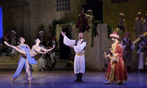 Boston Ballet in Ivan Liska's 'Le Corsaire'. Photo by Liza Voll.