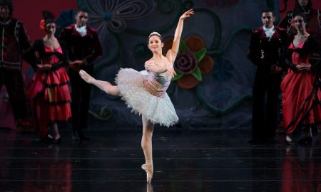 Cincinnati Ballet's Melissa Gelfin. Photo by Peter Mueller.