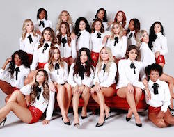 LA Clippers Spirit Dance Team. Photo courtesy of Clippers Spirit.