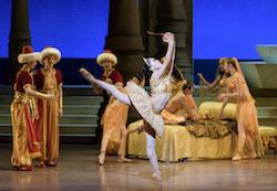 Lia Cirio and Boston Ballet in Ivan Liska's 'Le Corsaire'. Photo by Liza Voll.