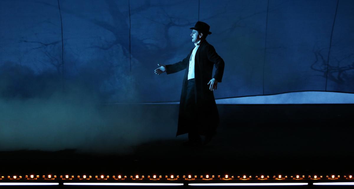 Mikhail Baryshnikov in 'Letter to a Man'. Photo by Julieta Cervantes.