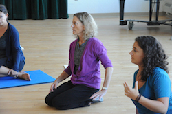 Nancy and Allegra Romita teaching. Photo by Jim Burger Photography.