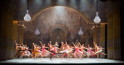 Boston Ballet in Mikko Nissinen's 'The Nutcracker'. Photo by Rosalie O'Connor, courtesy of Boston Ballet.