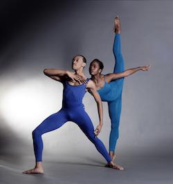 Dallas Black Dance Theatre's De'Anthony Vaughan and Hana Delong. Photo by Brian Guilliaux.
