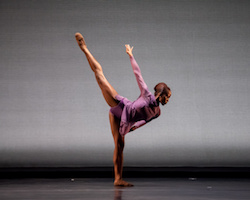 Dallas Black Dance Theatre's Hana Delong. Photo by Sharen Bradford, The Dancing Image.