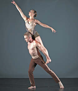 GDC's 'Entropy'. Dancers Maeghan McHale and Joshua Blake Carter. Photo by Gorman Cook.