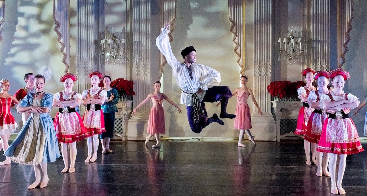 Glen Lewis in Island Moving Company's 'The Nutcracker at Rosecliff'. Photo courtesy of IMC.