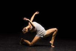 Hubbard Street Dance Chicago dancer Adrienne Lipson. Photo by Todd Rosenberg.