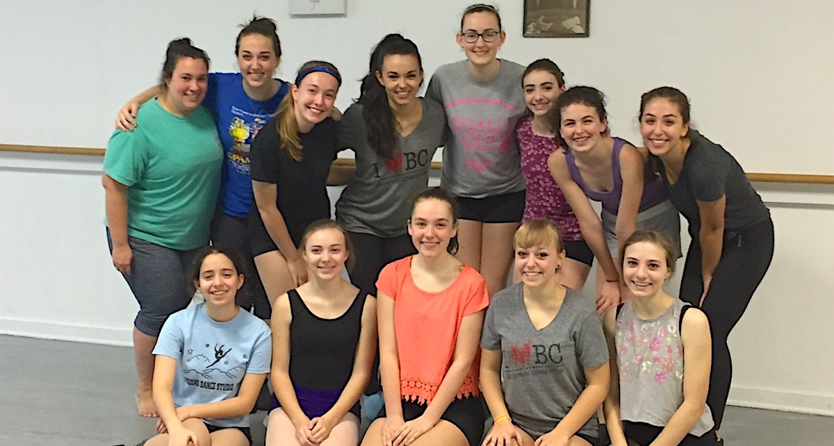 Melissa McCann's Broadway Connection Masterclass in Rochester, NY. Photo courtesy of McCann.
