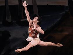 Joaquin de Luz in NYCB's 'Prodigal Son'. Photo by Paul Kolnik/New York City Ballet.