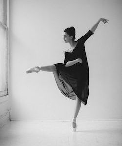 NYCB Principal Lauren Lovette, in a dress by designer Louiza Babouryan. Photo by Karolina Kuras.