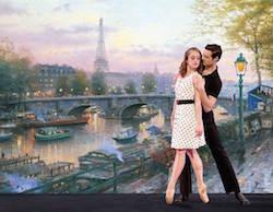Ballet Spartanburg in 'American in Paris'. Photo by Stephen Stinson
