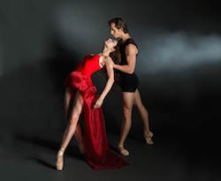 Ballet Spartanburg in 'Fire and Passion'. Photo by Stephen Stinson