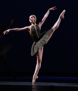 Caroline Perry of the Houston Ballet Academy. Photo courtesy of Perry.