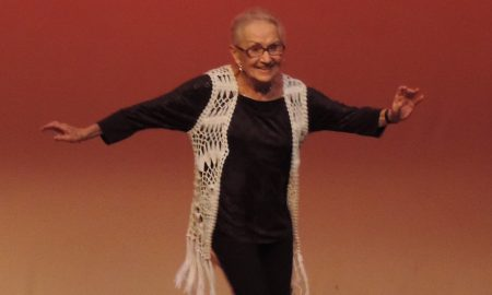 Maxine Ross dancing at 90 years old. Photo courtesy of Ross.