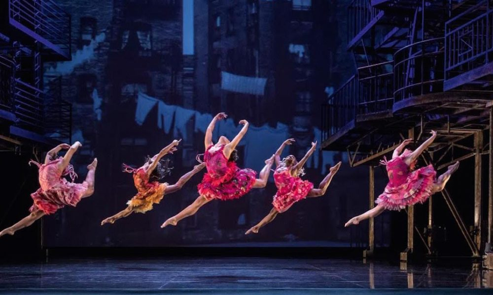 Nikki Croker in the 'West Side Story' National Tour.. Photo courtesy of Croker.