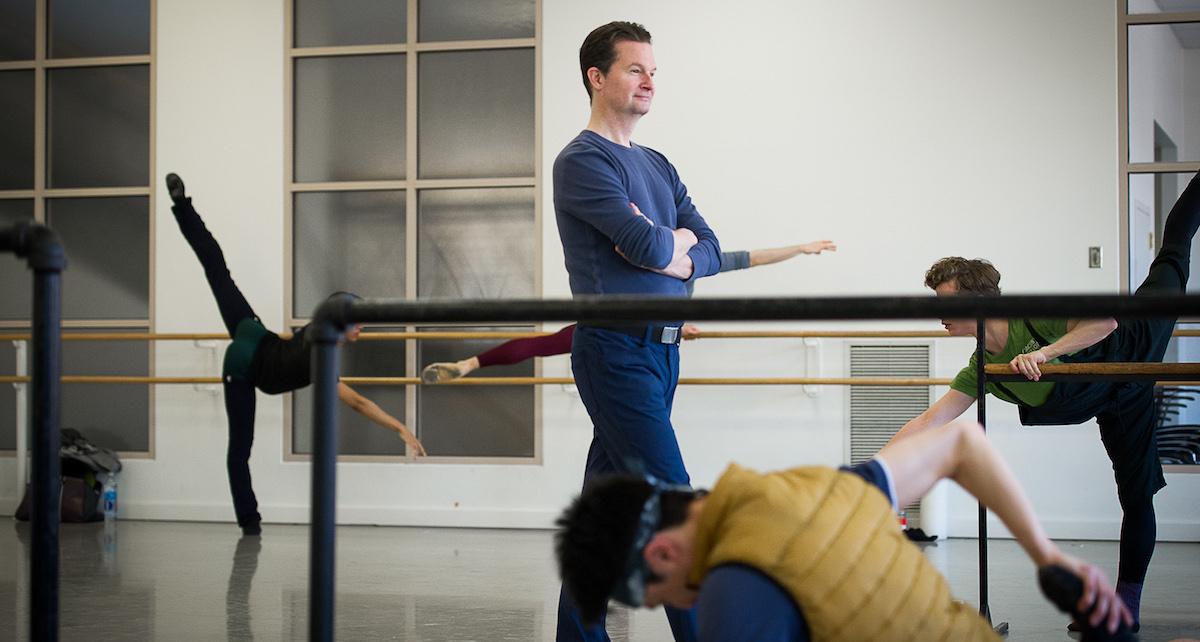 Peter Stark. Photo by Christopher Duggan, courtesy of Boston Ballet.