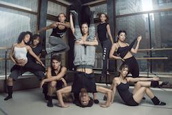 Cuban contemporary dance ensemble