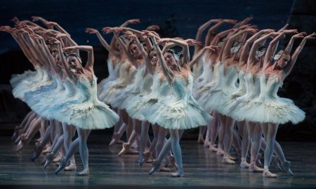 The Swans from ABT's 'Swan Lake'. Photo by Rosalie O'Connor.