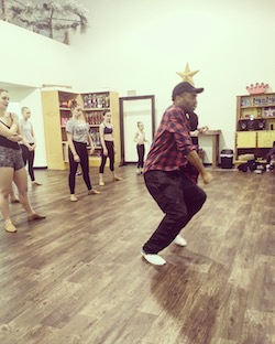 Broadway dancer