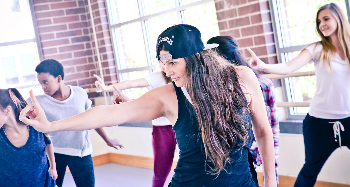 Youth Protection Advocates in Dance. Photo courtesy of YPAD.