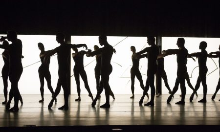 Boston Ballet in William Forsythe's 'Artifact'. Photo by Rosalie O'Connor, courtesy of Boston Ballet.