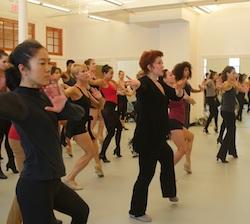 Donna McKechnie teaching