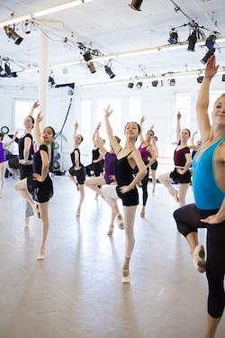Elena Kunikova Ballet Class