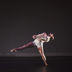 Lauren Difede in 'Limit of One', choreographed by Danielle Genest. Photo by Thomas Palmer.