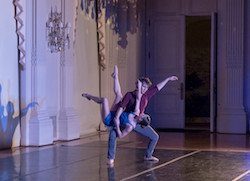 Shane Farrell and Lauren Difede in Mark Harootian's 'Accept the Unexpected'. Photo by Thomas Palmer.