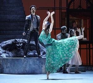 Tara Lee of Atlanta Ballet. Photo by Kim Kenney.