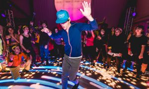 Cognitive Dance Party. Photo courtesy of IBM.