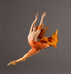 Jackie Nash in 'Firebird'. Photo by Charlie McCullers.
