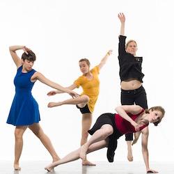 Liz Conway, Jamie Corliss, Shannon Edwards and Margi Cole. Photo by William Frederking.