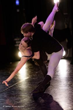 Nicole Fedorov and Niklas Blomqvist in 'Passing Shadows'. Photo by Arun Farcas.