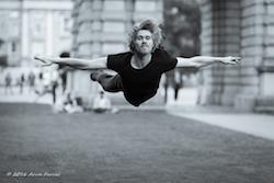 Niklas Blomqvist of ballet project[d]. Photo by Arun Farcas.