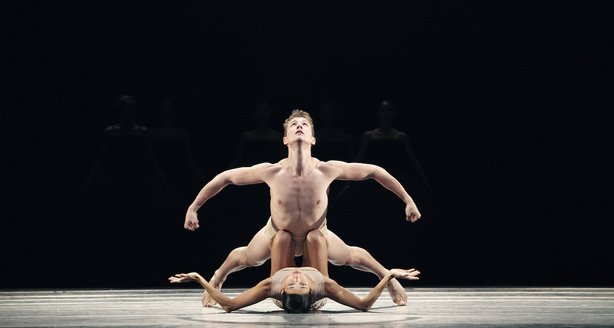 Jacob Bush and Rachel Van Buskirk in 'Petit Mort'. Photo by Kim Kenney.