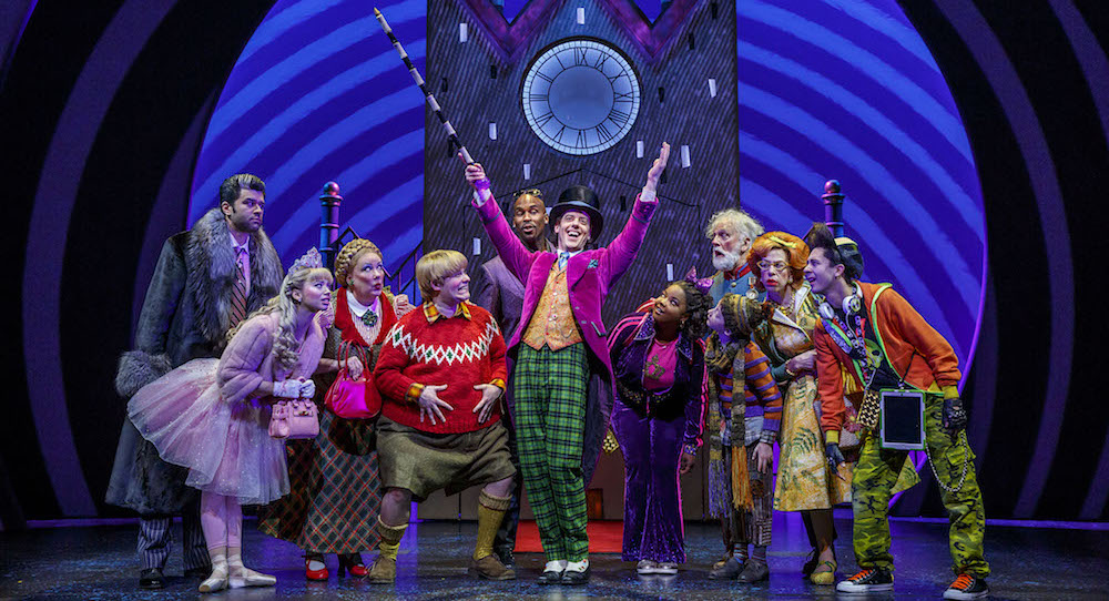 Roald Dahl's 'Charlie and the Chocolate Factory' on Broadway. Photo by Joan Marcus.