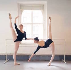 Students of the Vassiliev Academy of Classical Ballet. Photo by Vassiliev Art Ballet Production.