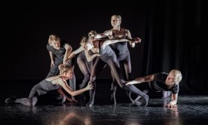 ballet project[d] in 'Dangerous Business'. Photo by Arun Farcas.