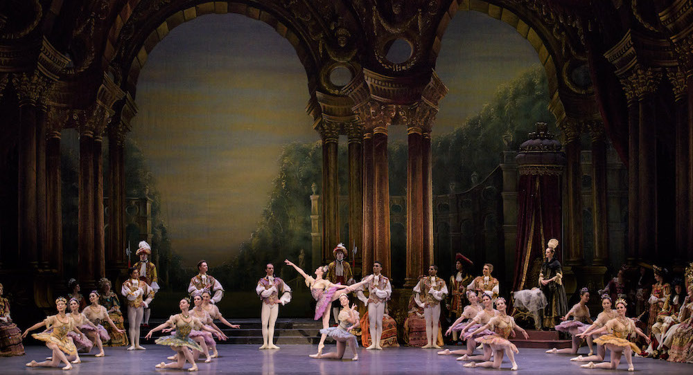 Boston Ballet in Marius Petipa's 'The Sleeping Beauty'. Photo by Liza Voll, courtesy of Boston Ballet.