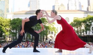 Bryant Park Presents Contemporary Dance. Photo by Stephen Delas.