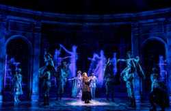 Christy Altomare and the cast of 'Anastasia' on Broadway. Photo by Matthew Murphy.