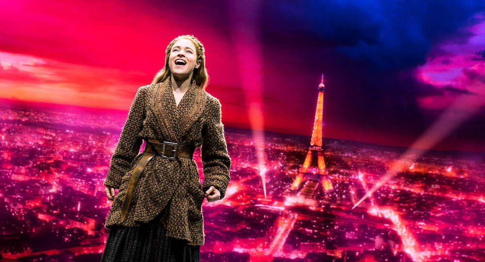 Christy Altomare in 'Anastasia' on Broadway. Photo by Matthew Murphy.
